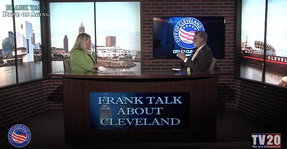 Mayor Frank Jackson and Director Mary McNamara